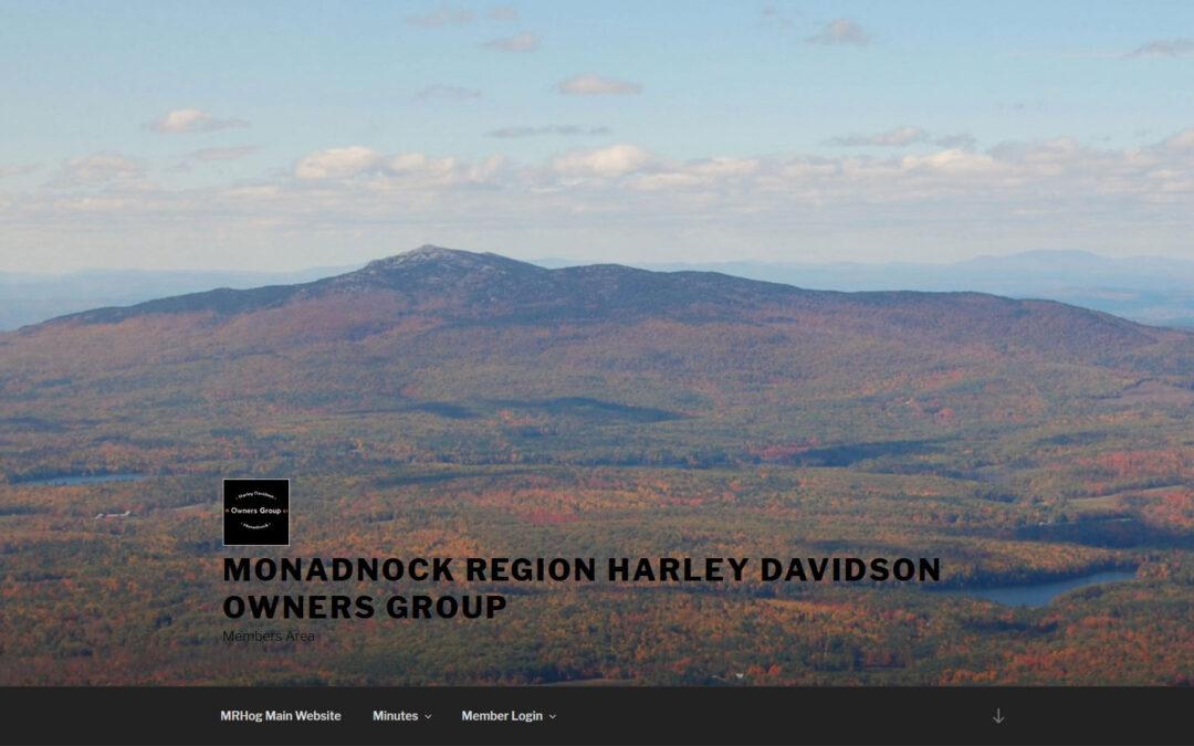 Monadnock Region Harley Davidson Owners Group