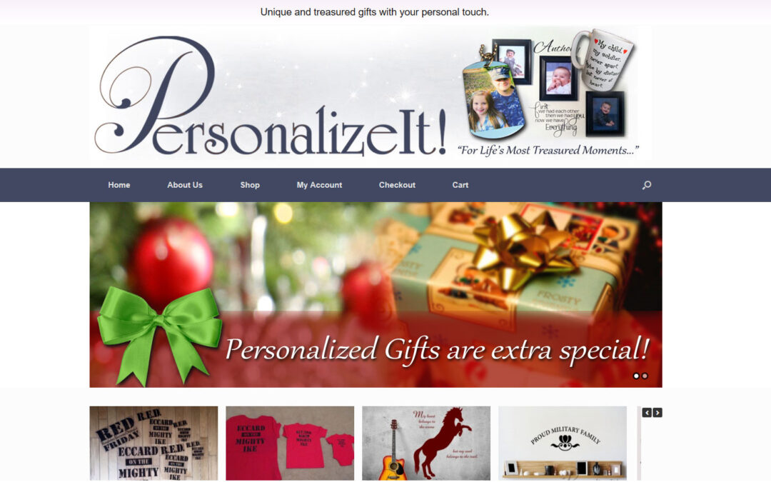 Personalize It For You