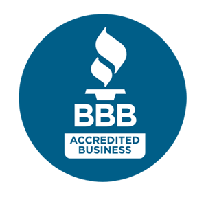 Better Business Bureau accredited member logo