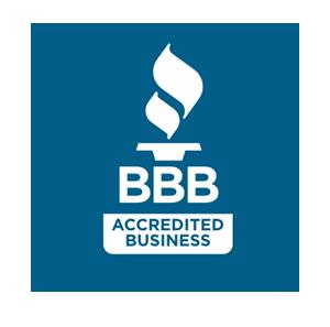 Better Business Bureau accredited member logo